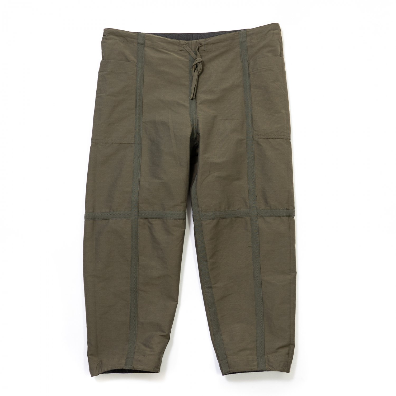 ts(s) * Nylon-Monofilament&Cotton Double Face Cloth Reversible Seam Taping East Pants * Olive