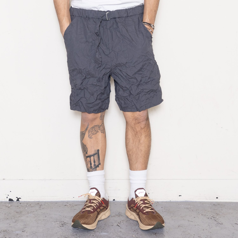 Graphpaper * Wrinkled Baker Shorts * C.Gray