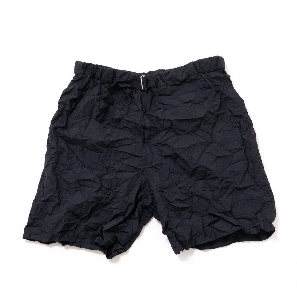 Graphpaper * Wrinkled Baker Shorts * Black