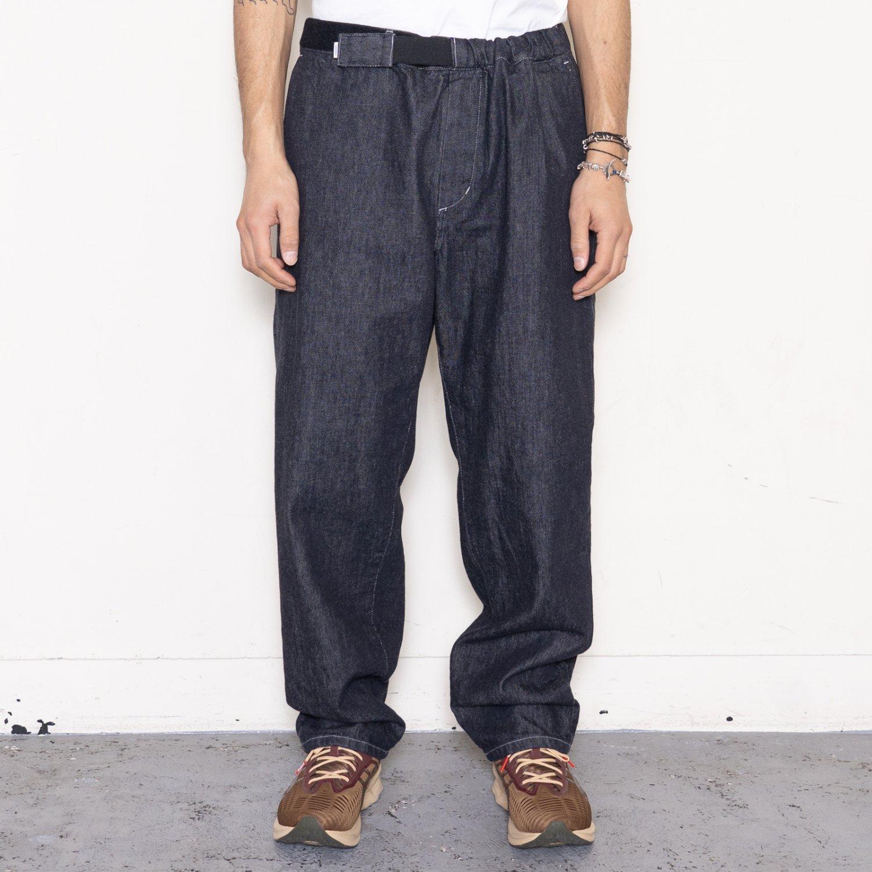 Graphpaper * Colorfast Denim Baggy Chef Pants * Indigo