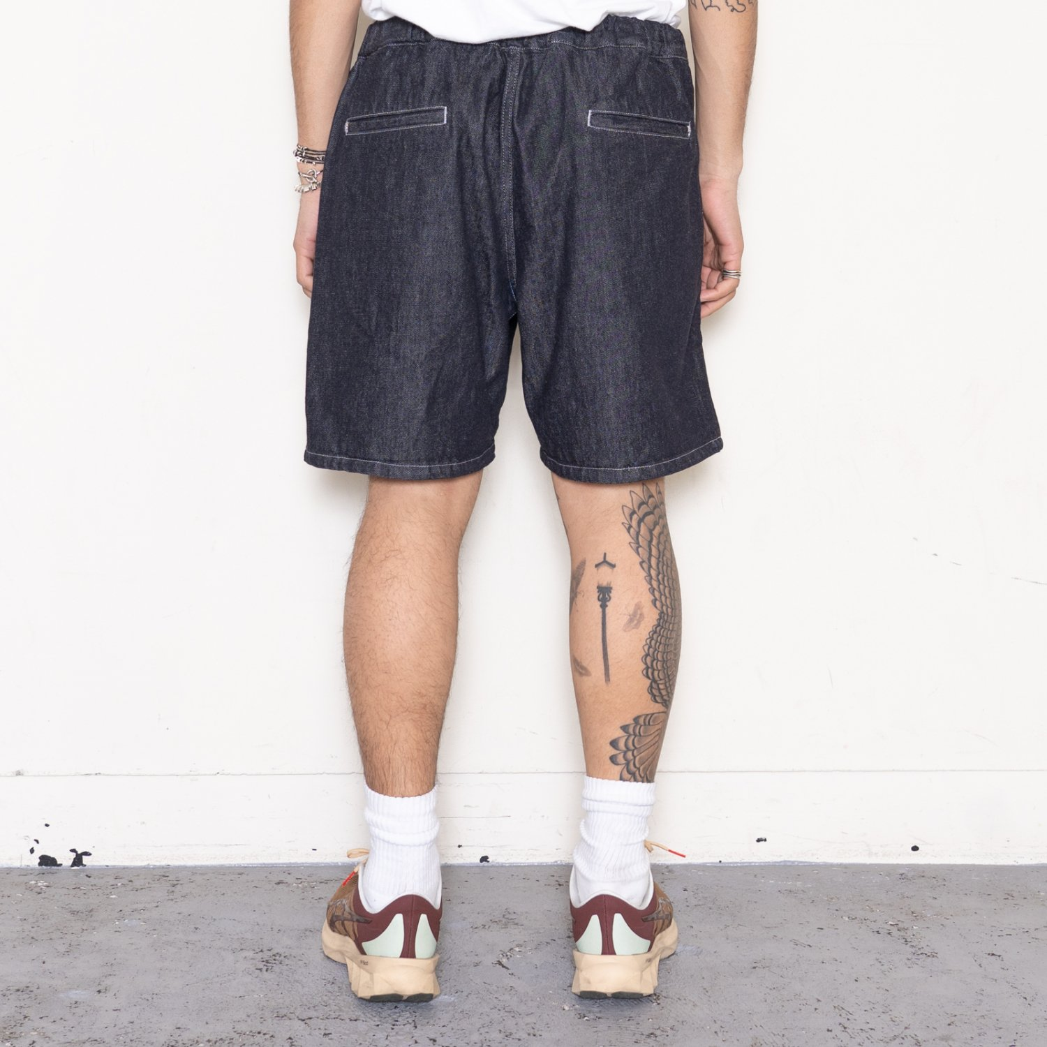 Graphpaper * Colorfast Denim Wide Chef Shorts * Indigo