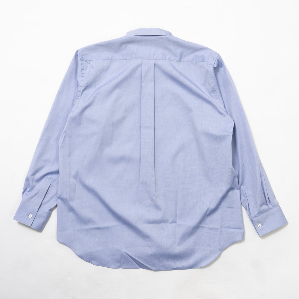 COMME des GARCONS SHIRT * Forever Wide Classic Oxford Long Sleeve Shirt * Blue