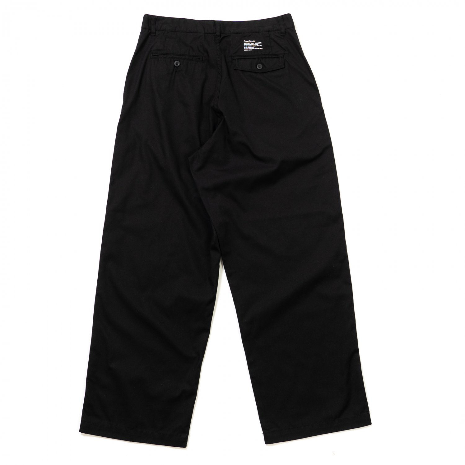 FreshService * Military Twill Trousers * Black