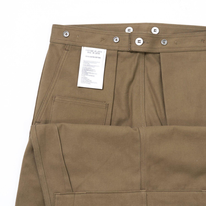 TUKI * 0146 Snap Pants * Olive
