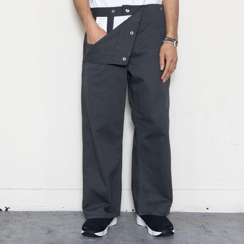 TUKI * 0146 Snap Pants * Steel Blue