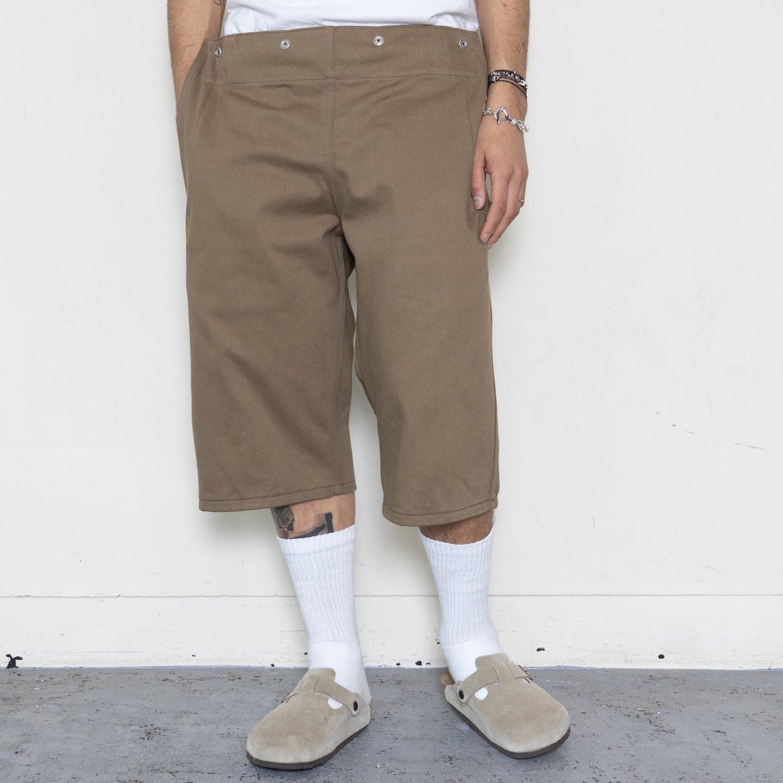 TUKI * 0147 Snap Shorts * Olive