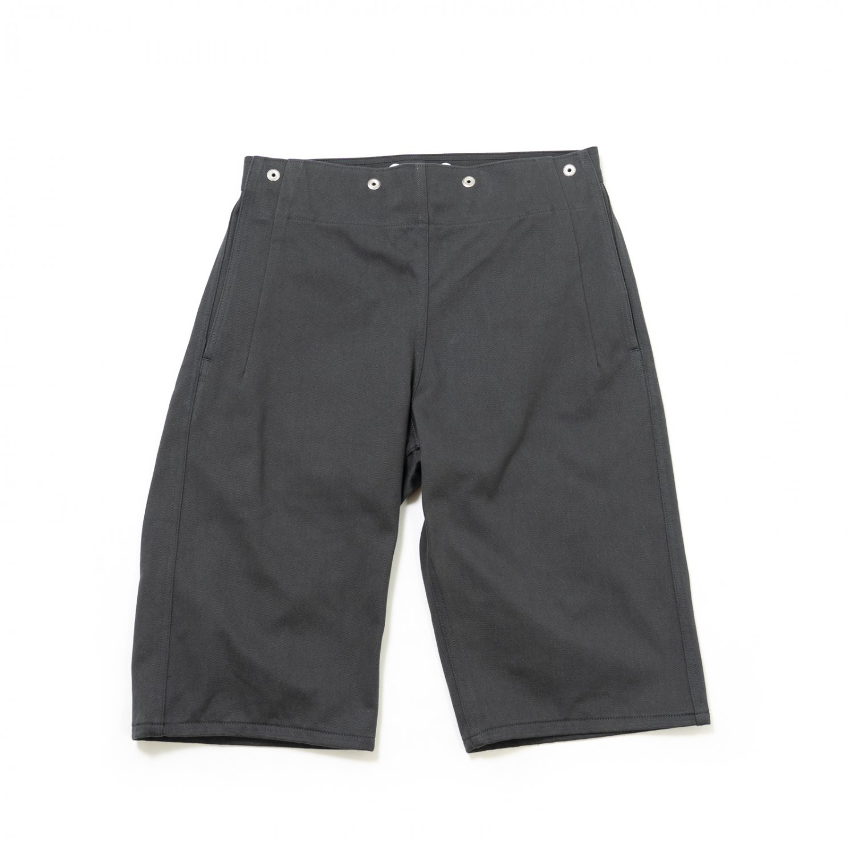 TUKI * 0147 Snap Shorts * Steel Blue