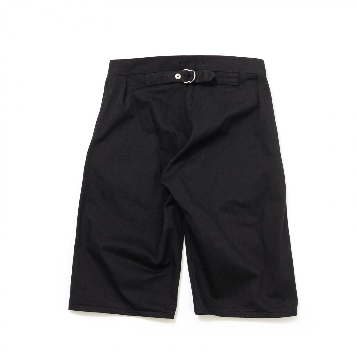 TUKI * 0147 Snap Shorts * Black