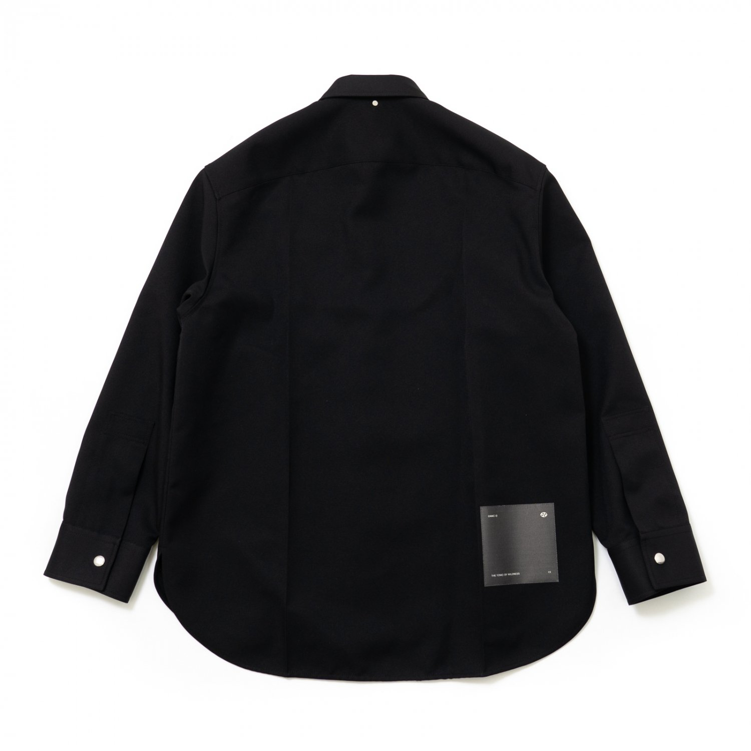 OAMC * LAB SHIRT POLYESTER * Black