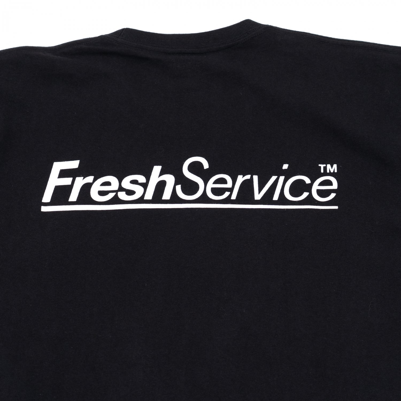 FreshService * 7.1oz Cotton Pocket Tee * Black
