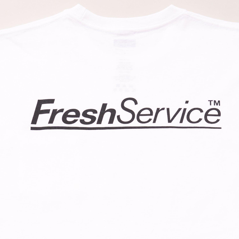 FreshService * 7.1oz Cotton Pocket Tee * White