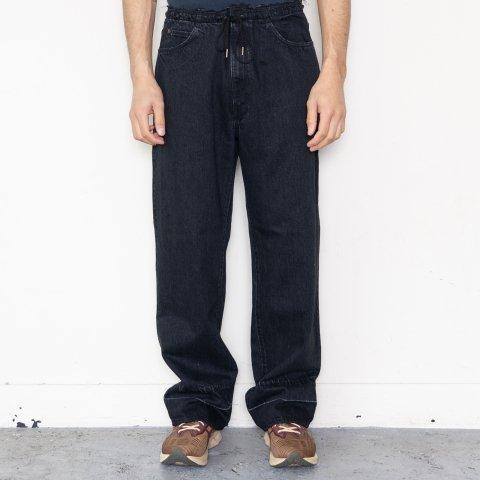 UNUSED * UW0961 12.5oz Easy Denim Pants * Black