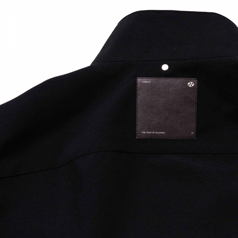 OAMC * SYSTEM FULL ZIP SHIRT * Black