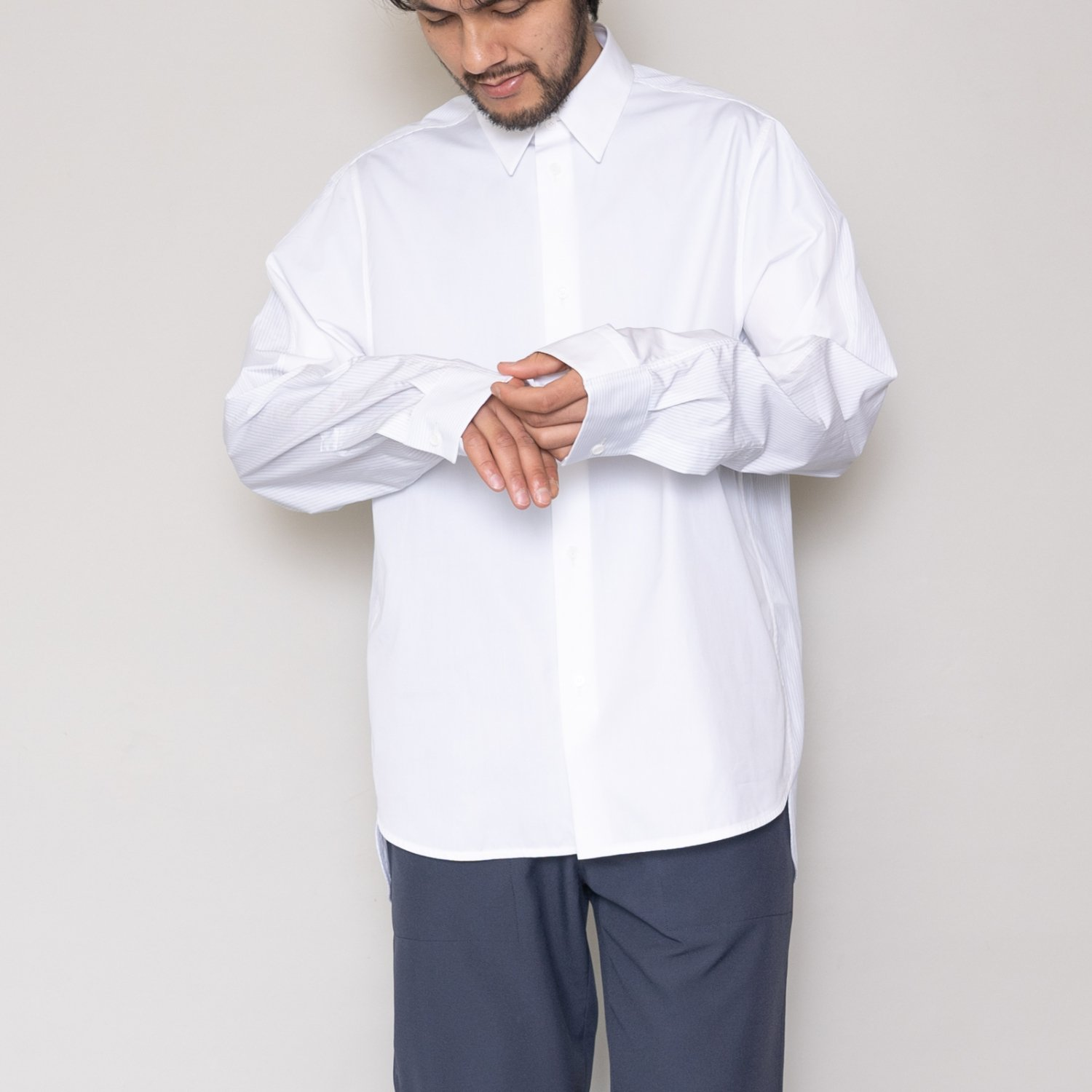 OAMC * COLLAGE SHIRT * White