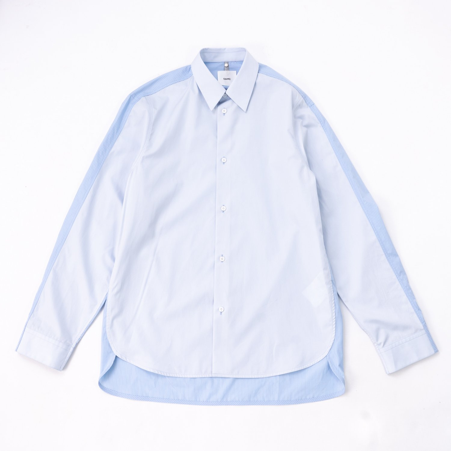 OAMC * COLLAGE SHIRT * Oxford Blue
