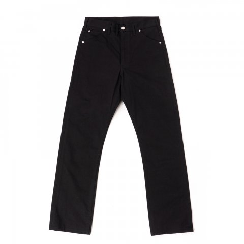 TUKI * 0143 Cowboy Pants * Black