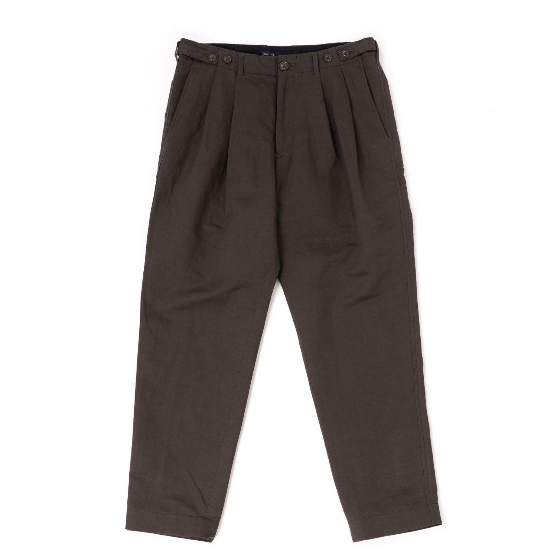 meanswhile * Duality Cloth Cargo Slacks * Charcoal