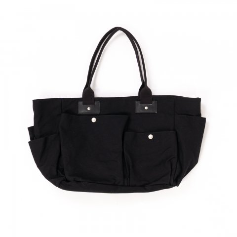 hobo * COTTON CANVAS TOTE BAG * Black
