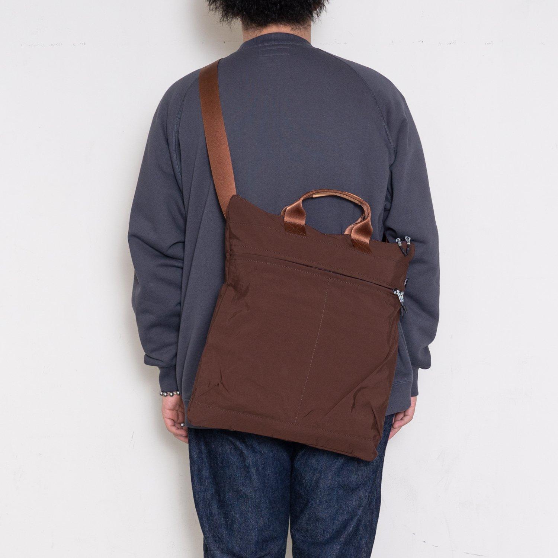 hobo * NYLON TUSSAH 2WAY SHOULDER BAG(3色展開)