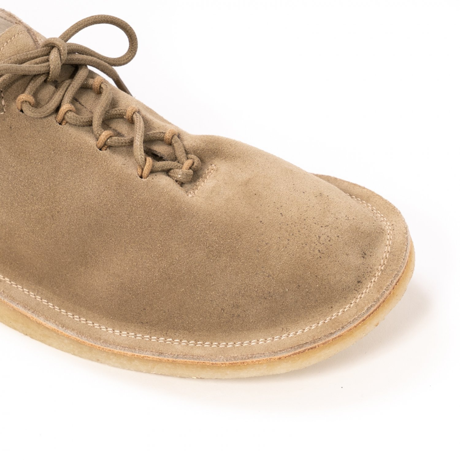 hobo * COW LEATHER LACE UP SHOES * Beige