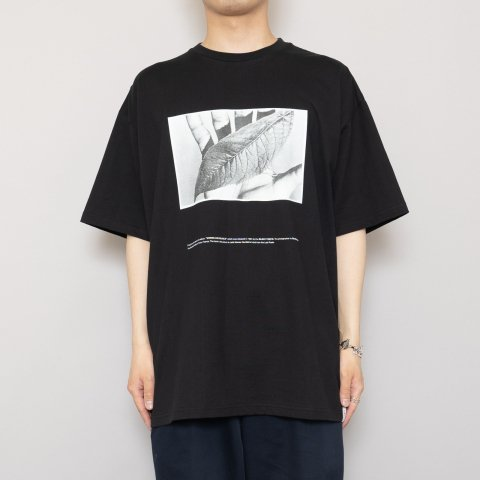 """Graphpaper * POET MEETS DUBWISE for GP Oversized Tee  """"W&S"""" * Black"""