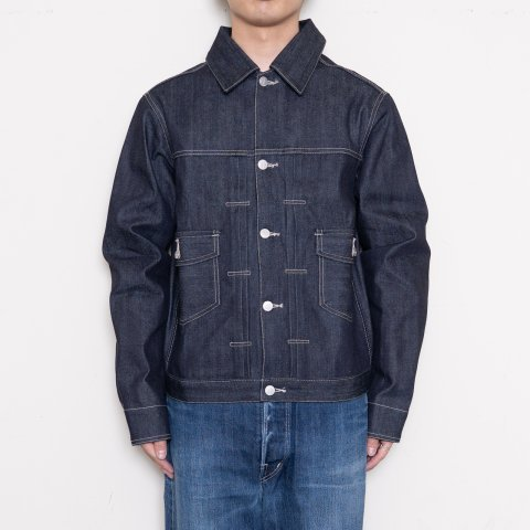 DAWSON DENIM * Type2 Jacket 14.25oz  Selvedge Pure Indigo * Indigo