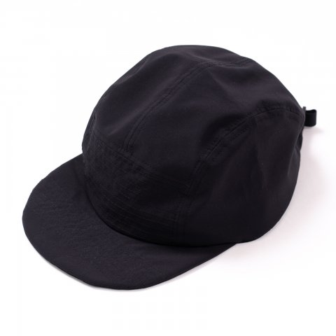 meanswhile * Water Repellent Jet Cap * Off Black