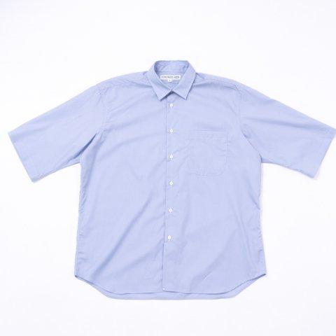 INDIVIDUALIZED SHIRTS * for public Half Sleeve Shirt Poplin * Blue