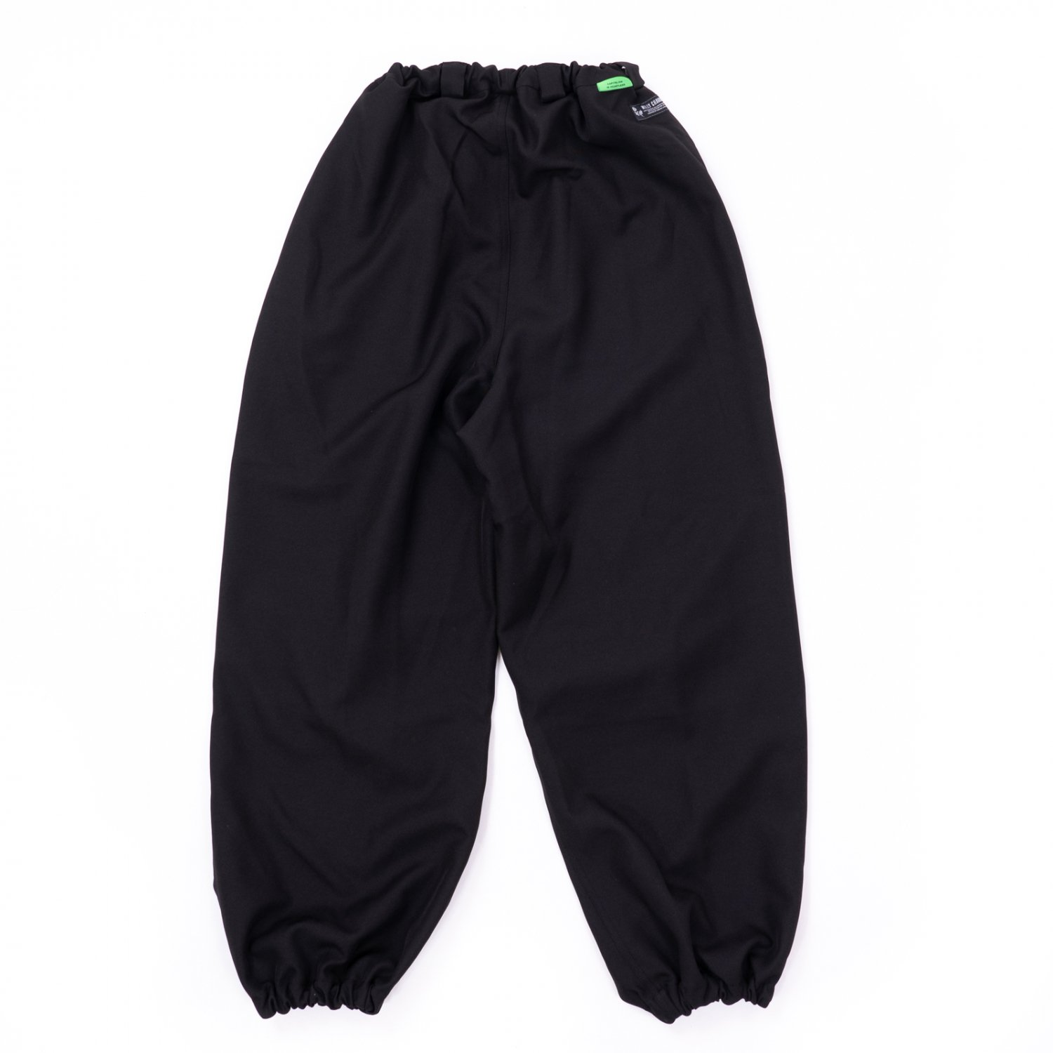 WILLY CHAVARRIA * WINDBREAKER PANT POLYESTER * Black