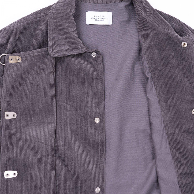 UNUSED * US2073 Fireman Corduroy Jacket * Gray