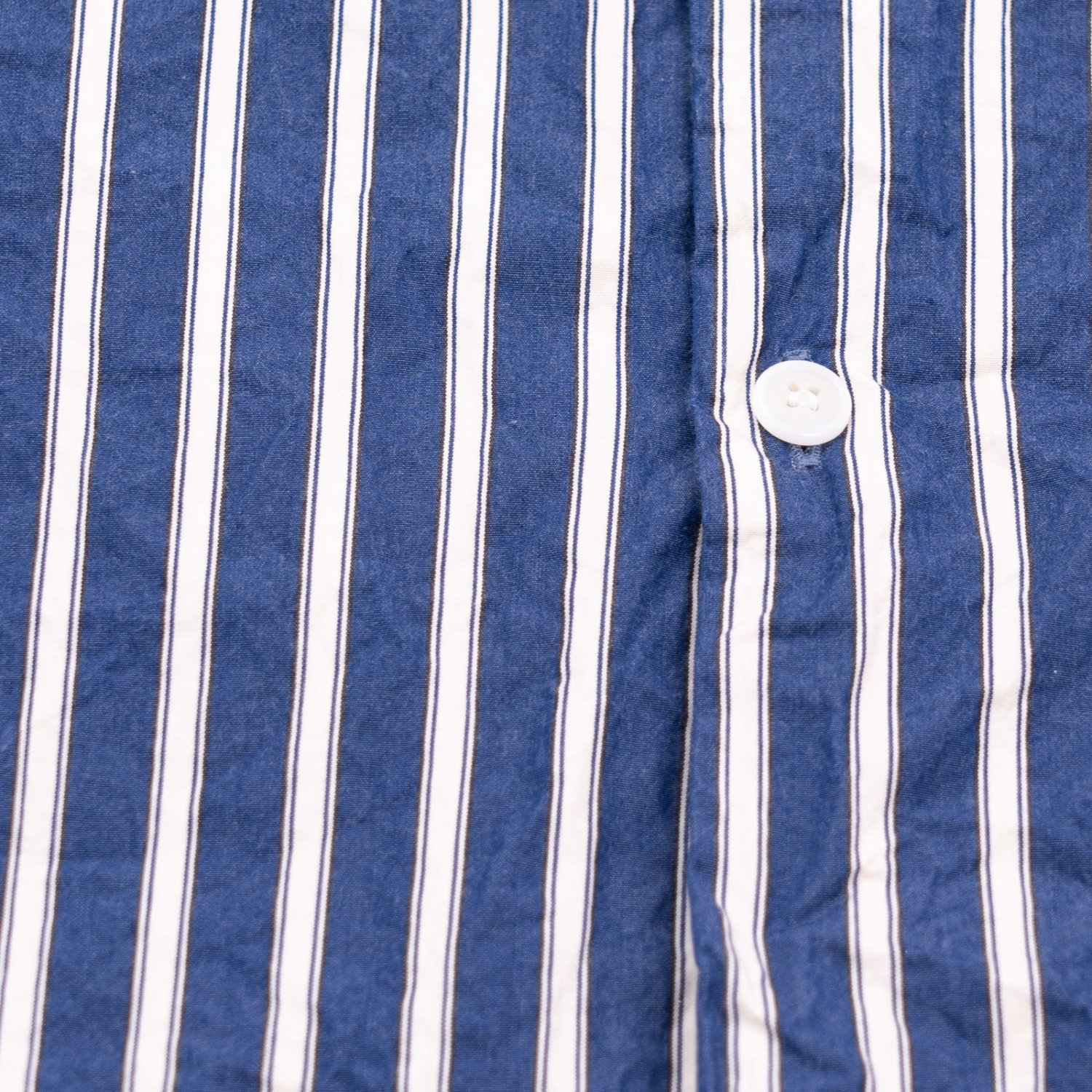 CASEY CASEY * 17HC231 FABIANO WITHOUT COLLAR SHIRT CANVAS * Blue