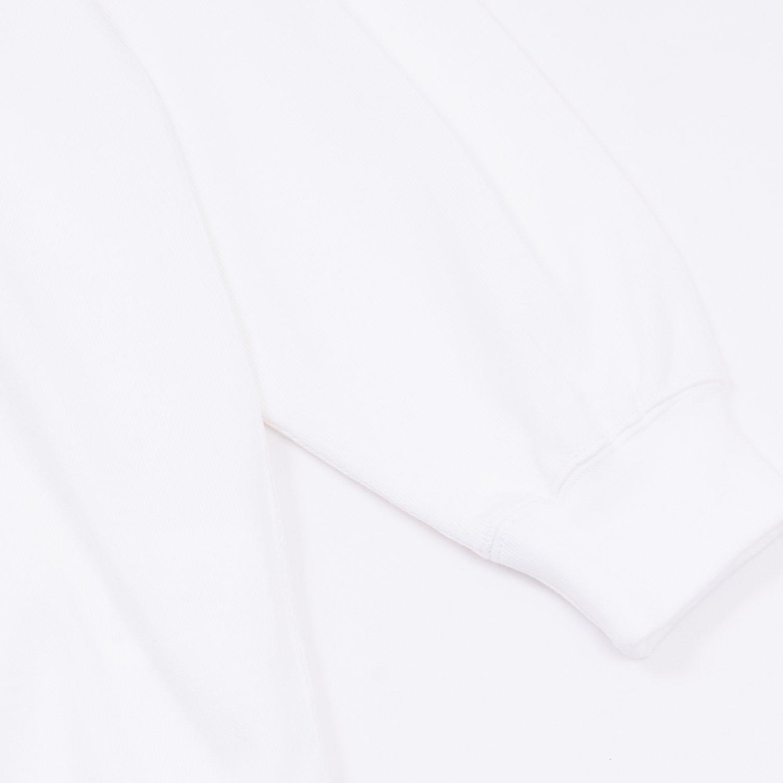 Graphpaper * for public Heavyweight Crewneck Hem Rib Tee * White