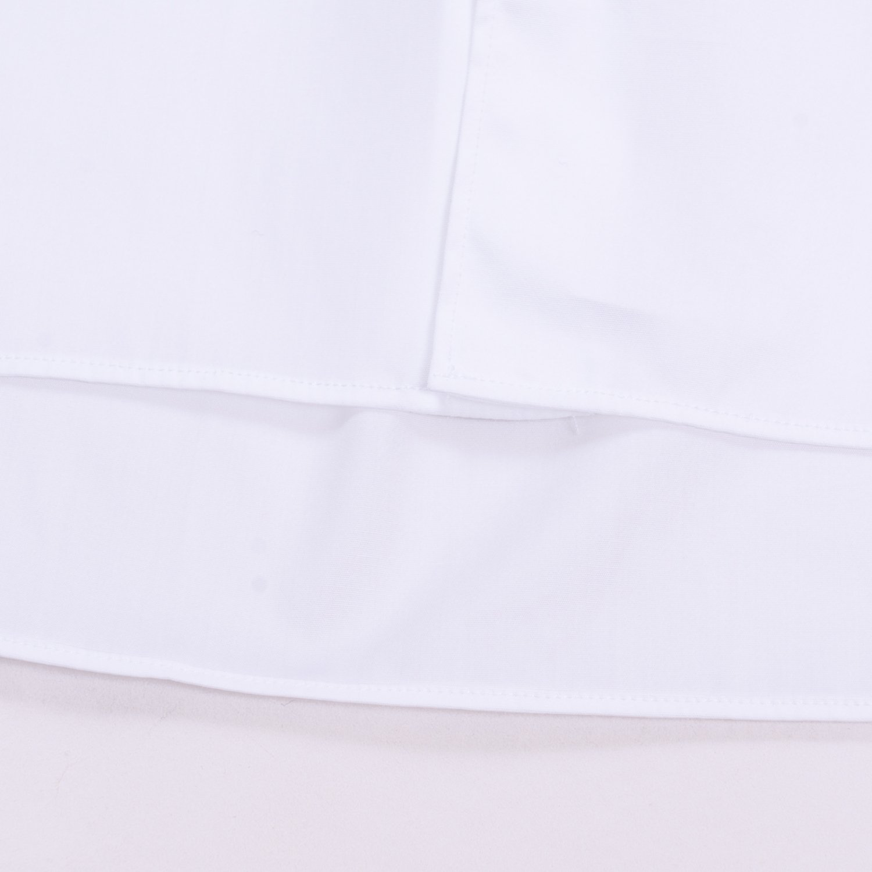 COMME des GARCONS SHIRT * Forever Wide Classic Plain Cotton Long Sleeve Shirt * White