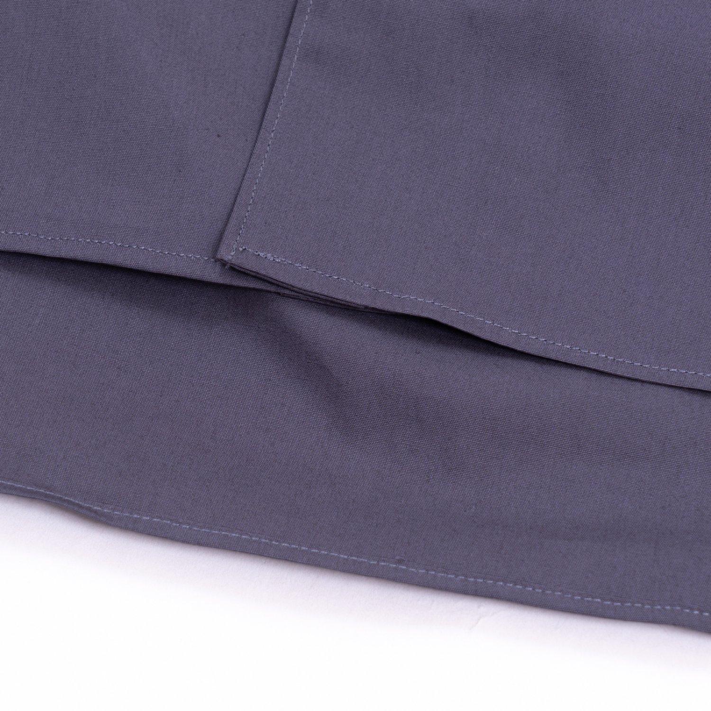 COMME des GARCONS SHIRT * Forever Wide Classic Plain Cotton Long Sleeve Shirt *  Grey