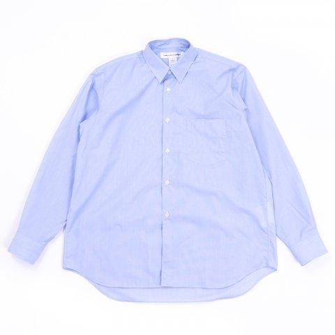 COMME des GARCONS SHIRT * Forever Wide Classic Poplin Stripe Long Sleeve Shirt * Stripe104