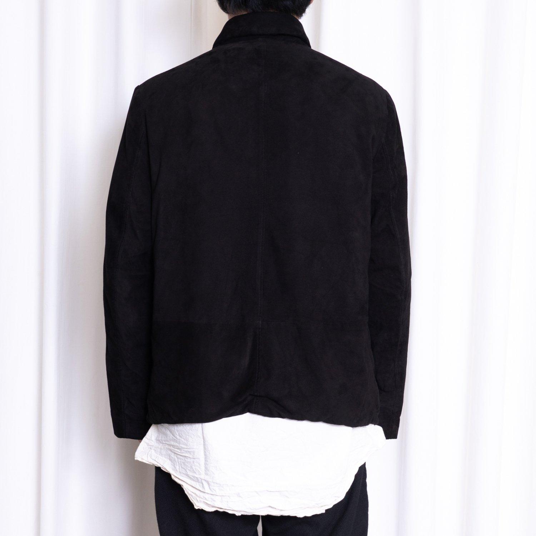 Bergfabel  * Leather Worker Jacket * Black