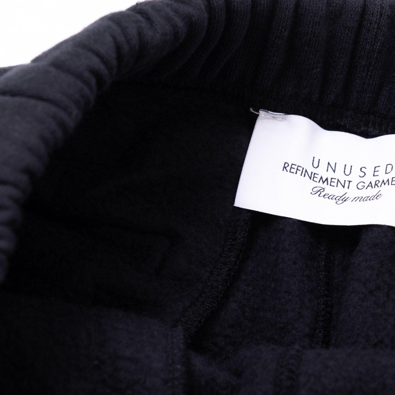 UNUSED * UW0995 Cotton Sweat Pants * Black