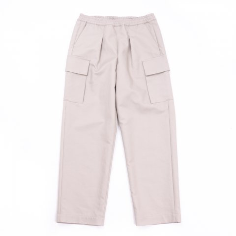 Graphpaper * Double Plain Weave Easy Military Pants * Beige