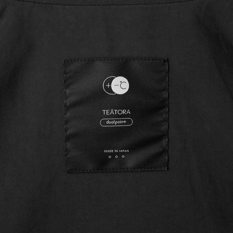 TEATORA  * TT-SHT-PLUS-DP Cartridge Shirt Plus DUAL POINT * Charcoal