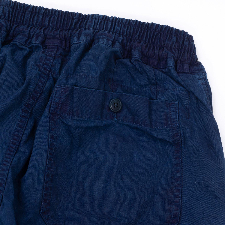 hobo * ARTISAN EASY PANTS COTTON TWILL * Indigo Dyed