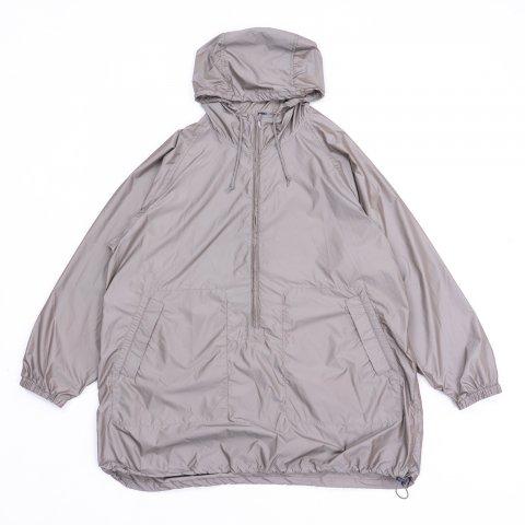 ts(s) * Long Zip Pullover Parka * Graybeige