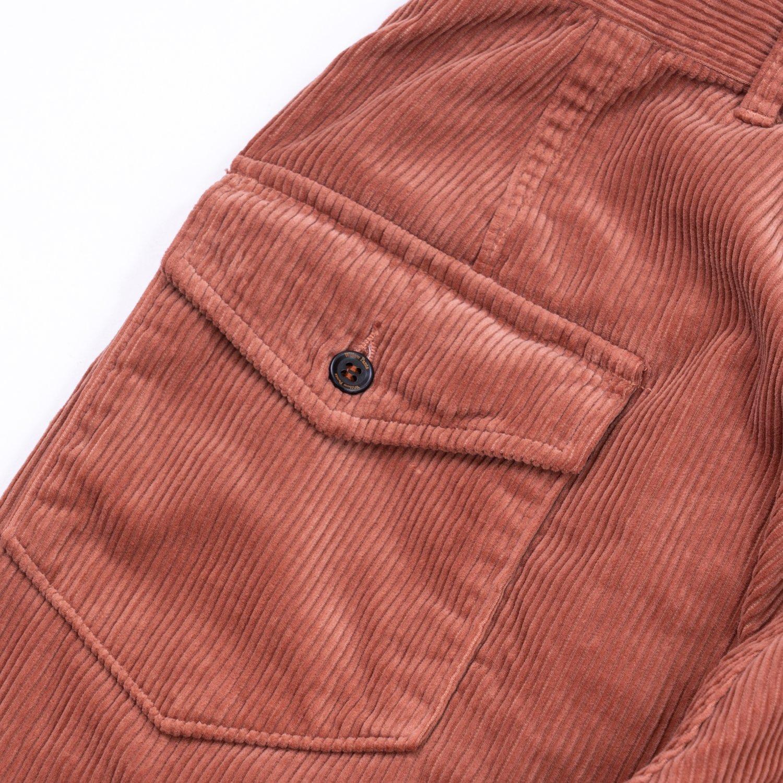 Willow Pants * P-001 Corduroy * Salmon Pink