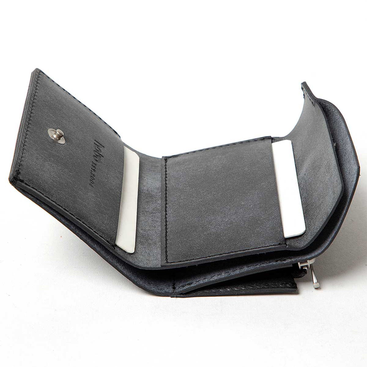 hobo * TRIFOLD COMPACT WALLET OILED COW LEATHER(2色展開)