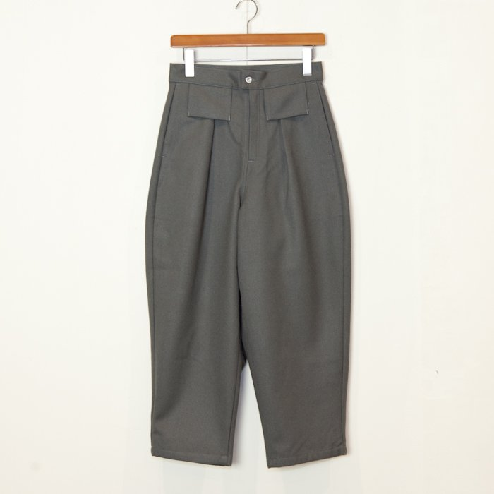 TUKI * Tapered Pants Wool Flano * Sage Green