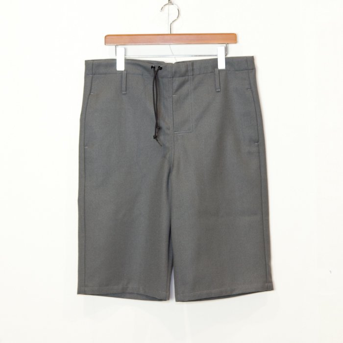 TUKI * Big Shorts Wool Flano * Sage Green