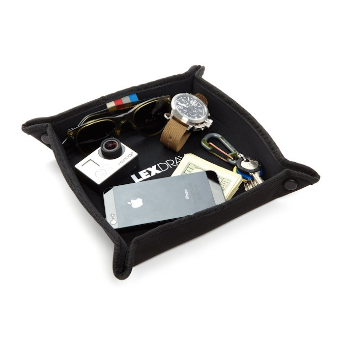LEXDRAY * Lisbon Travel Tray * Black