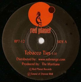 THE MARTIAN / Tobacco Ties / Spacewalker (7 inch)