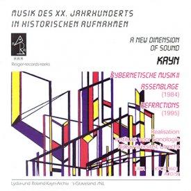 ROLAND KAYN / Kybernetische Musik II (CD)
