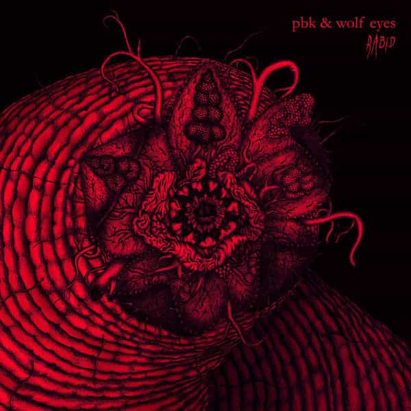 PBK & WOLF EYES / Rabid (LP)