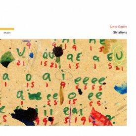 STEVE RODEN / Striations (CD)
